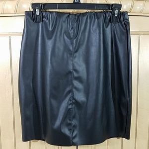 Boohoo Night Black Skirt, sz 8